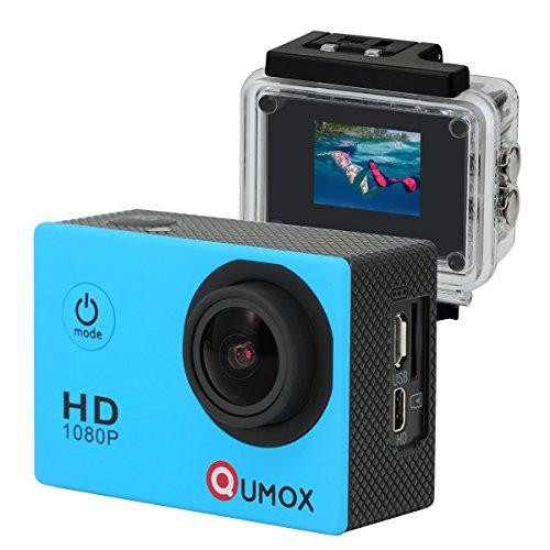 QUMOX SJ4000 - Cámara deportiva (12 MP, hd 1080p, HDMI),...