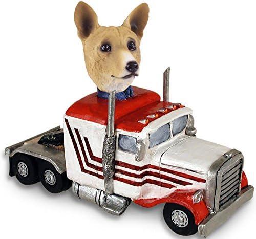 Trust Basenji Superior Truck Tractor Doogie Figurine Collectable