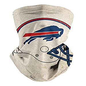 American Football Team Player Seamless Face Scarf Multifunction Neck Gaiter Headwear for Dust,Outdoors Sports