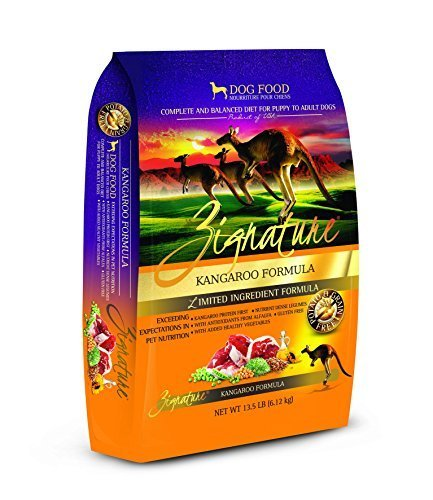Zignature Kangaroo Dry Dog Food Formula