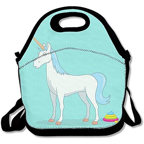 Unicorn Fashion Pranzo rugzak, lunchtas, voor kinderen en volwassenen
