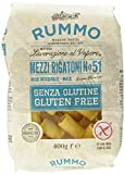 Paquete de 400 g Rigantoni Sin Gluten Rummo 400 G.