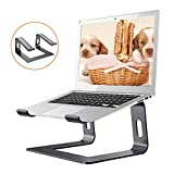 ZDiane Laptop Stand Portable Dismountable Ventilated Laptop Holder, Ventilated Notebook Stand Compatible