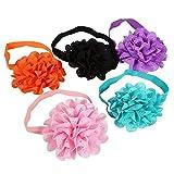 10 Stück Baby-Haarband, hohles Blumen-Haarband, Haarband, elastisch, Haar-Accessoires für Kinder, Babys, Mädchen, Kleinkinder