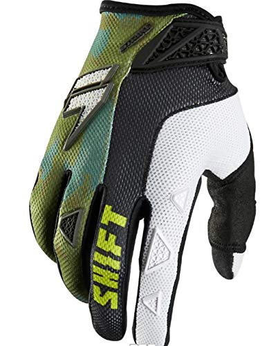 Shift Racing Strike Army Men's Off-Road Motorcycle Gloves - Camo / 2X-Large