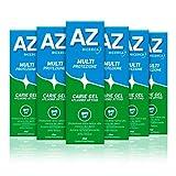 AZ Dentifricio Multi Protezione Carie Gel, Previene le Carie e Combatte l'Alito Cattivo, 6 x 75ml