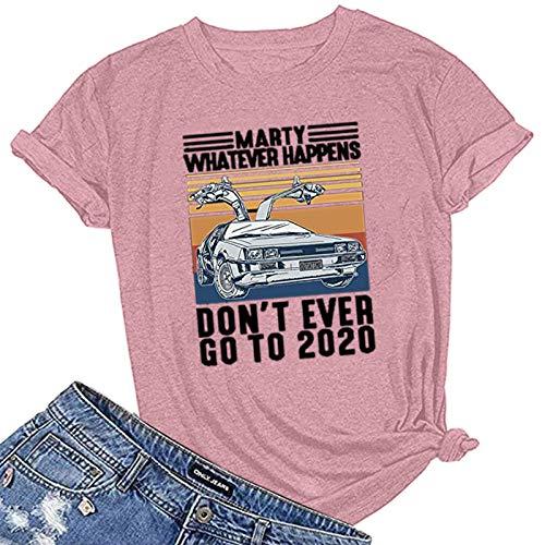 LAIYIFA Women Blouse Letter Print Summer T Shirts Ladies Tops Loose Comfortable Exhaust Perspiration Designer Sweatshirts Casual Tunic Girls Shirts Sports Jumper