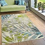 Paco Home Designer Teppich Wohnzimmer Ausgefallen Farbkombination Jungle Design Mehrfarbig, Grösse:80x150 cm