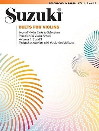 Duets for Violins by Shinichi Suzuki(1999-10-01)