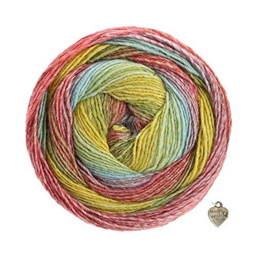 Lana Grossa Wolle Kreativ 144 zyclam 50 g Fb Elastico