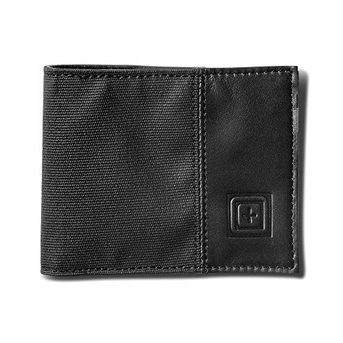 5.11 Tactical Phantom Bifold Wallet, Schwarz