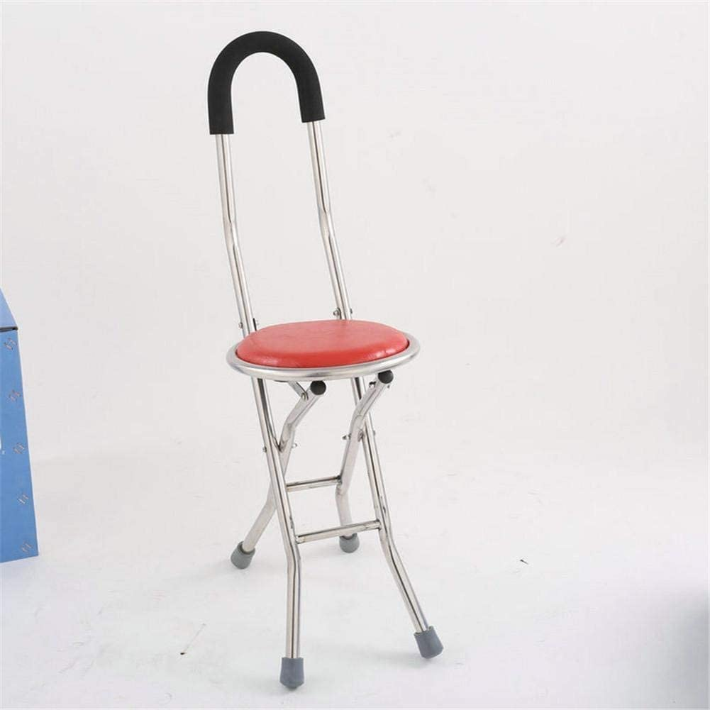 Crutches Adult Folding Chair Stool Stick Adjustable Sale item with shopping Walking