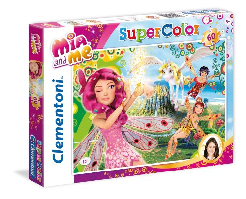 Clementoni - Puzzle MIA and Me, de 60 Piezas, con diseño The Magic (26915.0)