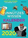 Unnützes Wissen Kalender 2020 ABK: 366 skurrile Fakten, die kein Mensch braucht - Gerald Drews