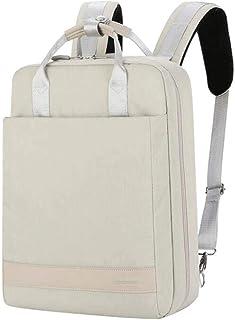 HUShjsd Backpack, Female Fashion Little Backpack Leisure Travel Bag Work Package Male Laptop Bag,Large-Capacity Backpack College School Bag Fashion Computer Bag Backpack (Color : White)