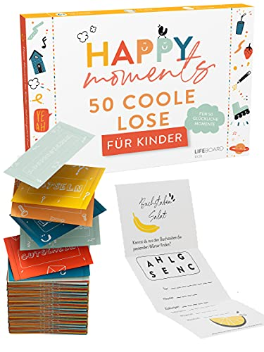 Happy Moments Losbox für Kinder -...
