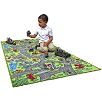 Amy & Delle City Life Extra Large Kids Educational Playmat