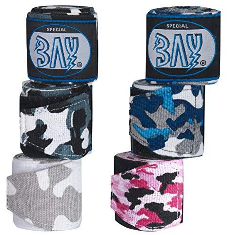 BAY® Camouflage Boxbandagen PINK