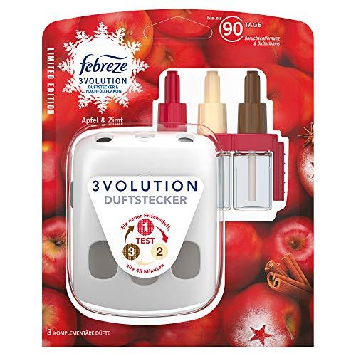 Febreze 3Volution Duftstecker (20 ml) Apfel & Zimt, Starterset, Raumduft und Lufterfrischer