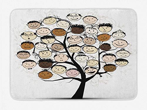 Yilan Alfombrilla de baño Family Tree