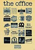 WDQFANGYI Serie De TV, Carteles De Oficina, Impresiones, Pared De La Habitación del Hogar, Pintura Decorativa, Póster Artístico De Pared, Imágenes 50X70Cm (FLL6764)