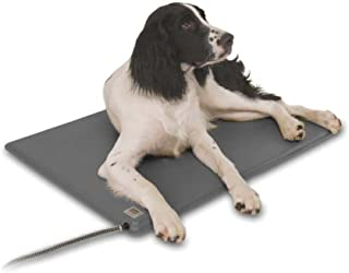 K&H Pet Products Deluxe Lectro-Kennel Heated Pad with FREE Cover - Adjustable Thermostat for Optimal Temperature Control