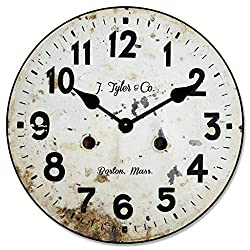 Vintage Pocket Watch Wall Clock, Available in 8 Sizes, Most Sizes Ship 2-3 Days, Whisper Quiet.