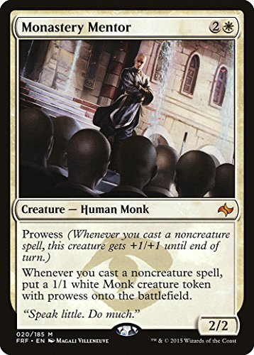 Magic The Gathering - Monastery Mentor (020/185) - Fate Reforged