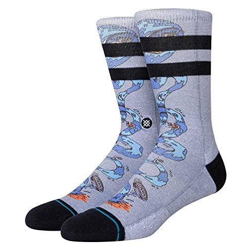 Stance Socks Party Wave Socks - Grey Medium Grey