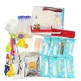 i-uend Kinder DIY Science Experiment Spielzeug Set Handmade Science Experiment Kit 10ML, Kann 45/90/136 Arten von Experimenten durchführen
