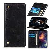 HULDORO for LG Q70 Wallet Case, Fermeture magnétique PU Cuir Haut de Gamme Folio Case,...