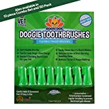 New Gentle Disposable Dog Toothbrushes | Soft High Grade Finger Toothbrush with Silicone Bristles for Pet Dental & Oral Care Teeth & Gum (8 Count)