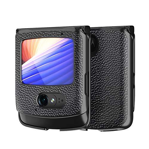 Hülle für Motorola razr 5G,PU Leder & PC Handyhülle Rückseite für Motorola razr 5G,Muster 6