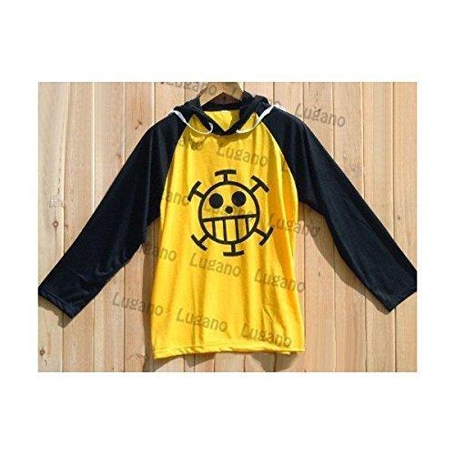 『コスプレ衣装 ONE PIECE ワンピース トラファルガー・ロー風ジャージ バーカー Lサイズ コスチューム』のトップ画像