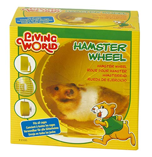 Living World 61695 Hamsterrad, gelb