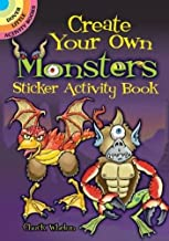 Create Your Own Monsters (Dover Little Activity Books Stickers)