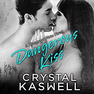 Dangerous Kiss audiobook cover art