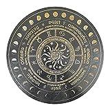 lahomia Kit D'autel de Sorcellerie Divinatoire de Panneau de Pendule de Divination de...