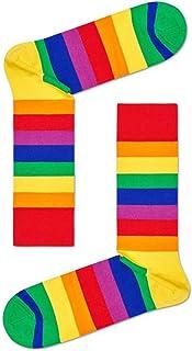 Happy Socks, Calcetines De Hombre De Rayas De Orgullo, Multicolor
