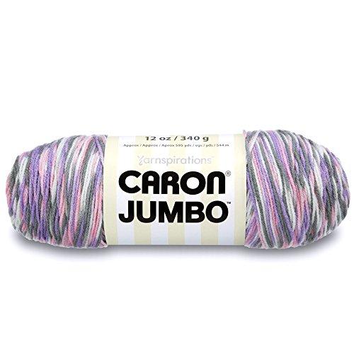 Caron Jumbo Ombre Yarn, 12 oz, Easter Basket, 1 Ball