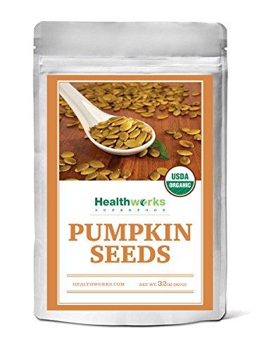 Healthworks Pumpkin Seeds Organic Shelled, 2lb