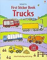 Trucks Sticker Book (First Sticker Books)