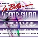 La Bella VSE1046 Vapor Shield Electric Guitar Strings, Regular, 10-46