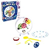 MUKIKIM Happy Puzzle Company The Amazing Clock Kit - Construct Your own Colorful Real Working Clock. Educational Toy That Teaches How Clocks Work, and Doubles as an Actual Wind-up Clock.