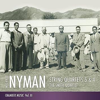 String Quartets 5 & 4: Chamber Music, Vol. III