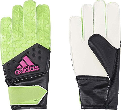 adidas Kinder Torwarthandschuhe Ace, Solar Green/Core Black/Shock Pink S16, 8