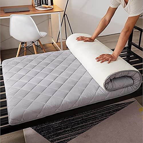 CheChe-nh Alfombrilla plegable para colchón de futón, suave, de tatami, para cama japonesa, de 90 x 190 cm
