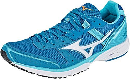 Mizuno Wave Emperor 3 Schuhe Damen Blue Curacao/White/Blue Sapphire Schuhgröße UK 5,5 | EU 38,5 2019 Laufsport Schuhe