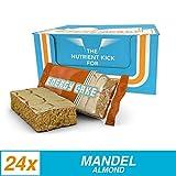 Muskelaufbaumittel -Energy Cake, Geschmack Mandel, 24 x 125g Riegel, 1er Pack