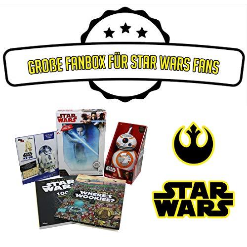getDigital Star Wars Fan Box | Großes Bundle mit 5 Artikeln im Wert von über 70€ | Ausgewählte Gadgets, Bausätze, Luminart und mehr